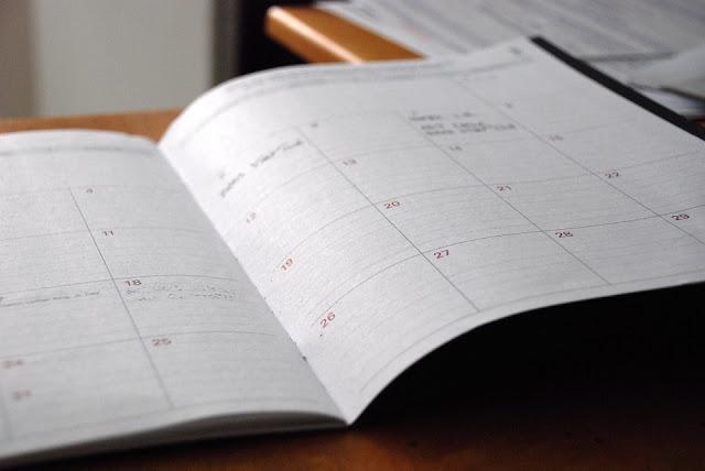 OCS November 2016 Schedule
