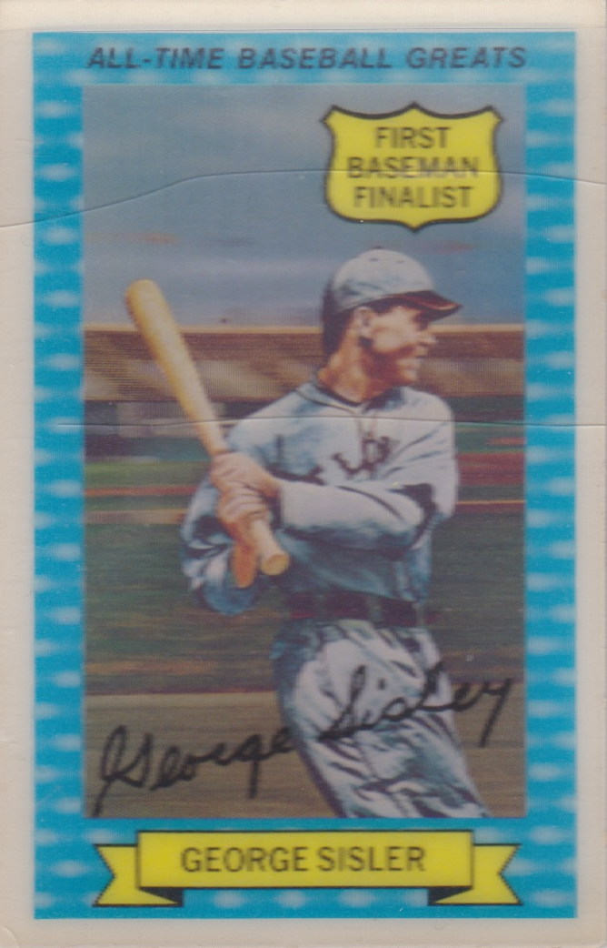Number 5 Type Collection 1972 Kelloggs All Time Greats