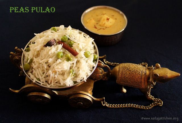 images of Green Peas Pulao / Peas Pulao Recipe / Matar Pulao - Rice Recipes