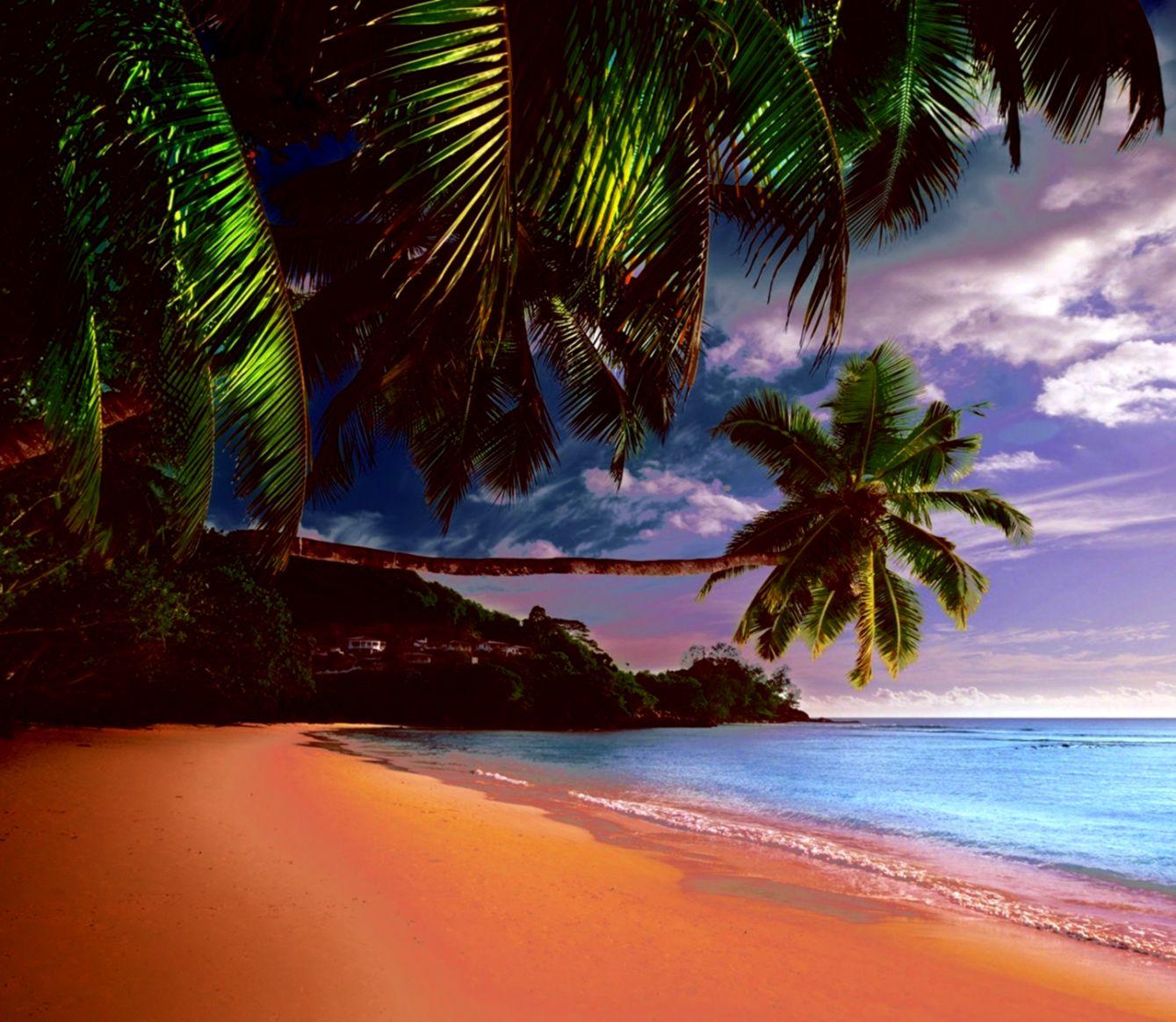 Tropical Island Beaches: Free Tropical Beach Wallpapers Desktop