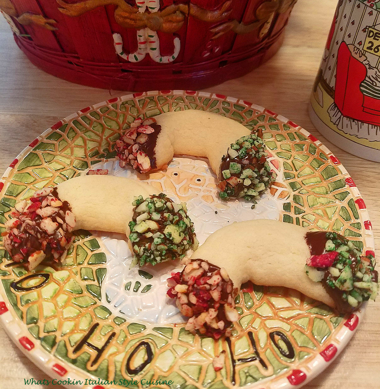 Almond paste butter crescents are a decadent rich cookie perfect for holiday trays