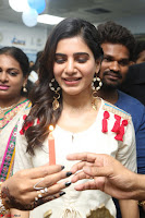 Samantha Ruth Prabhu Smiling Beauty in White Dress Launches VCare Clinic 15 June 2017 082.JPG