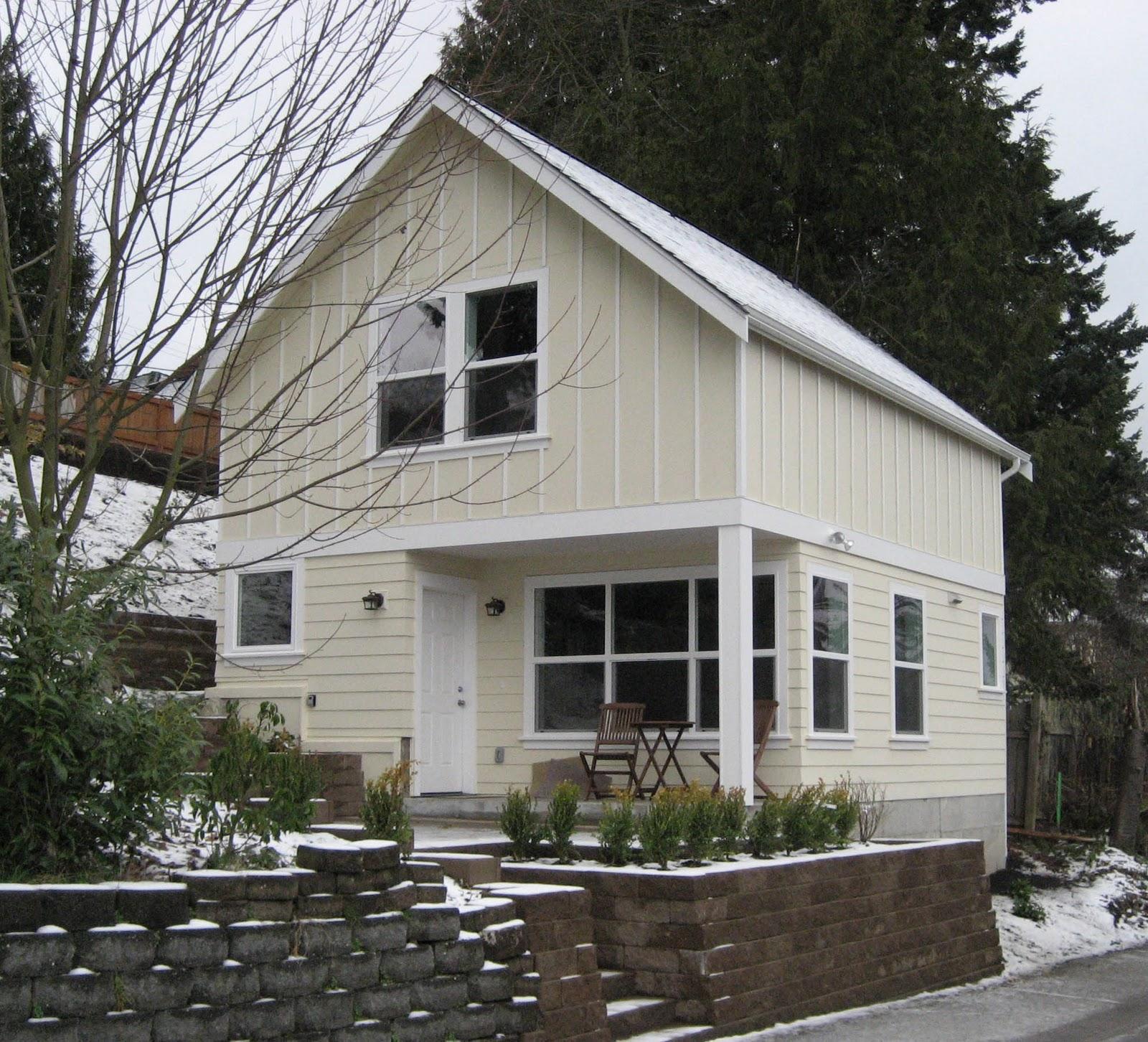 Backyard cottage blog upcoming backyard cottage open house for Seattle backyard cottage