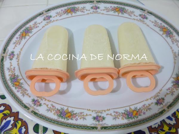 PALETAS SABOR COCO (NO ESENCIAS CON COCO NATURAL)