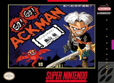 Go Go Ackman - SNES [Em Português - Download]