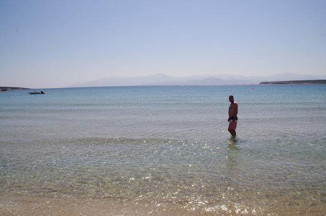 Beach Paros Island