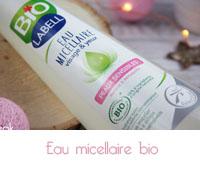 eau micellaire bio   Labell