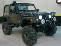 Jeep Wrangler Rubicon - Revell 1/25