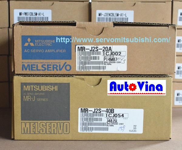 Đại lý bán drive Amplifier MelServo Mitsubishi MR-J2S-20A công suất 200W