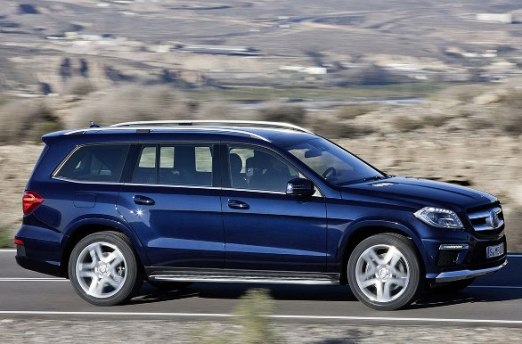 Mercedez Benz GL class is powerful engine