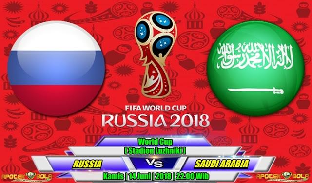 Prediksi Russia vs Saudi Arabia 14 Juni 2018