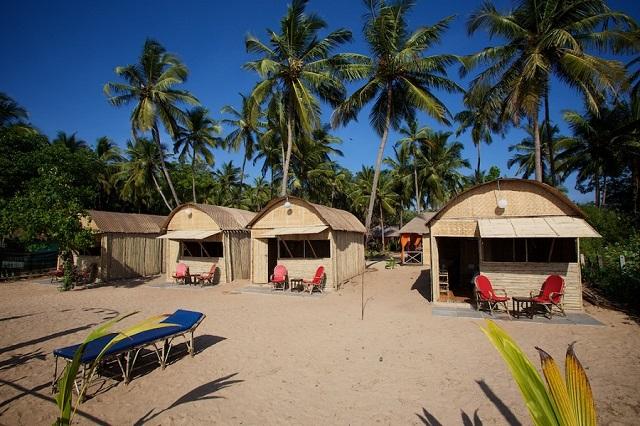 Agonda Beach in Coco Hut