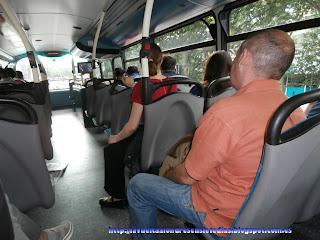 Autobús londinense de dos pisos.