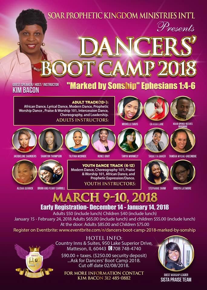 2018 Major praise dance conferences | His Hem Ministry Praise Dance