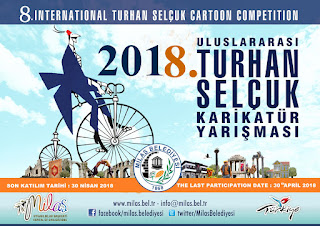 Gold Pencil Indonesia_8th International Turhan Selcuk Cartoon Competition 2018 Turkey