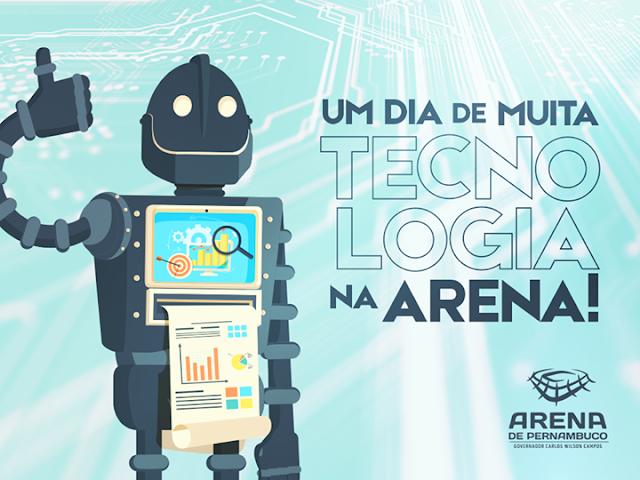 Domingo na Arena  com a Etapa Estadual da Olimpíada Brasileira de Robótica na Arena Pernambuco