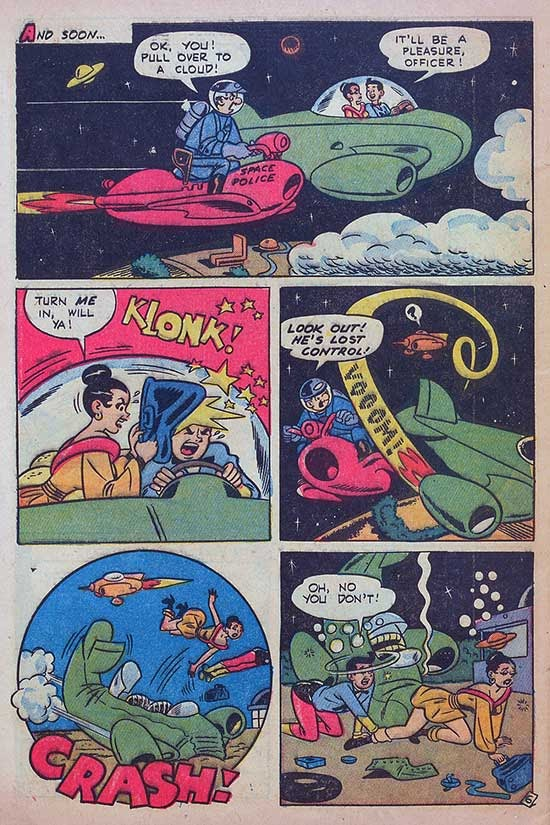 Atomic kommie comics 2018 04 01 if the art style looks familiar its the work of dan decarlo who helped establish the iconic look of archie comics dan actually started at atlas comics fandeluxe Choice Image
