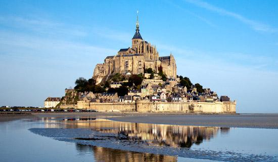 El Monte Saint Michel en Francia, viajes y turismo