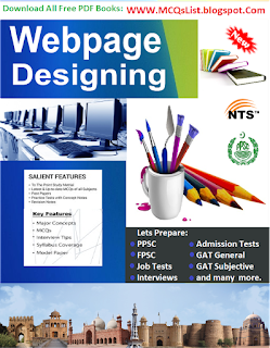 File:Solved MCQs PDF Guide MCQs HTML and Webs Designing.svg