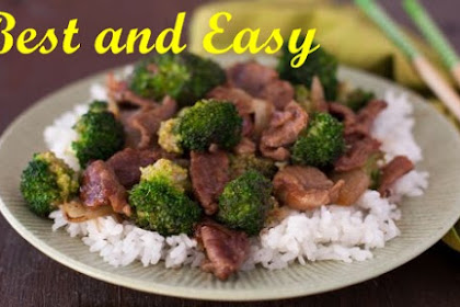 SIMPLY EASY BEEF AND BROCCOLI STIR-FRY