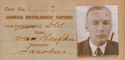 Jacobus van Haeften, 1904