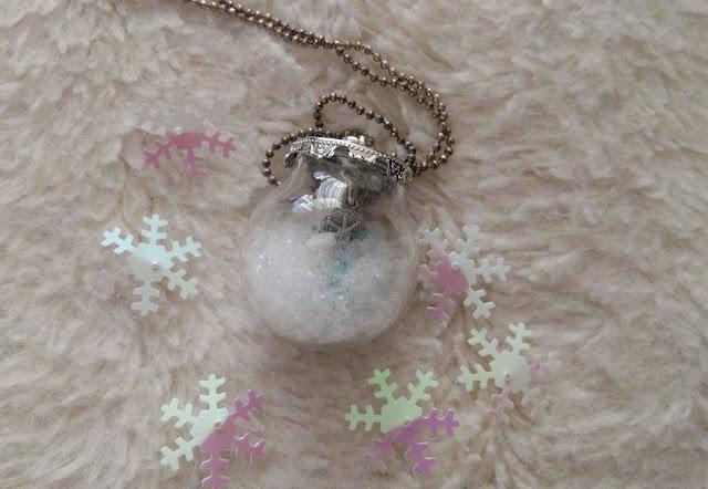 DIY, tutoriel, dome en verre, neige, my little quail, perle des loisirs