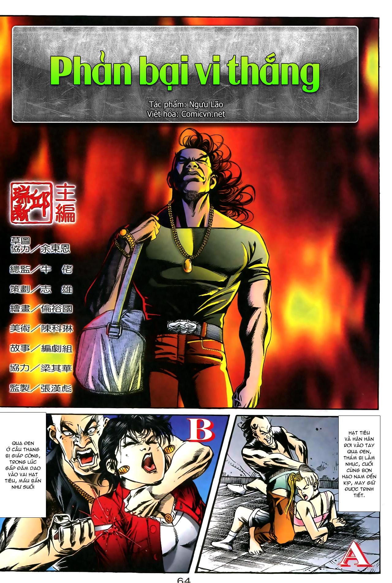 Người Trong Giang Hồ chapter 176: lật thua thành thắng trang 2