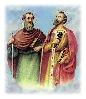 Thánh Phêrô và Thánh Phaolô , saint Peter and saint Paul