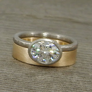 ethical moissanite rings