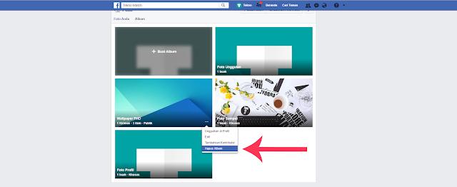 Cara Menghapus Semua Foto di Facebook