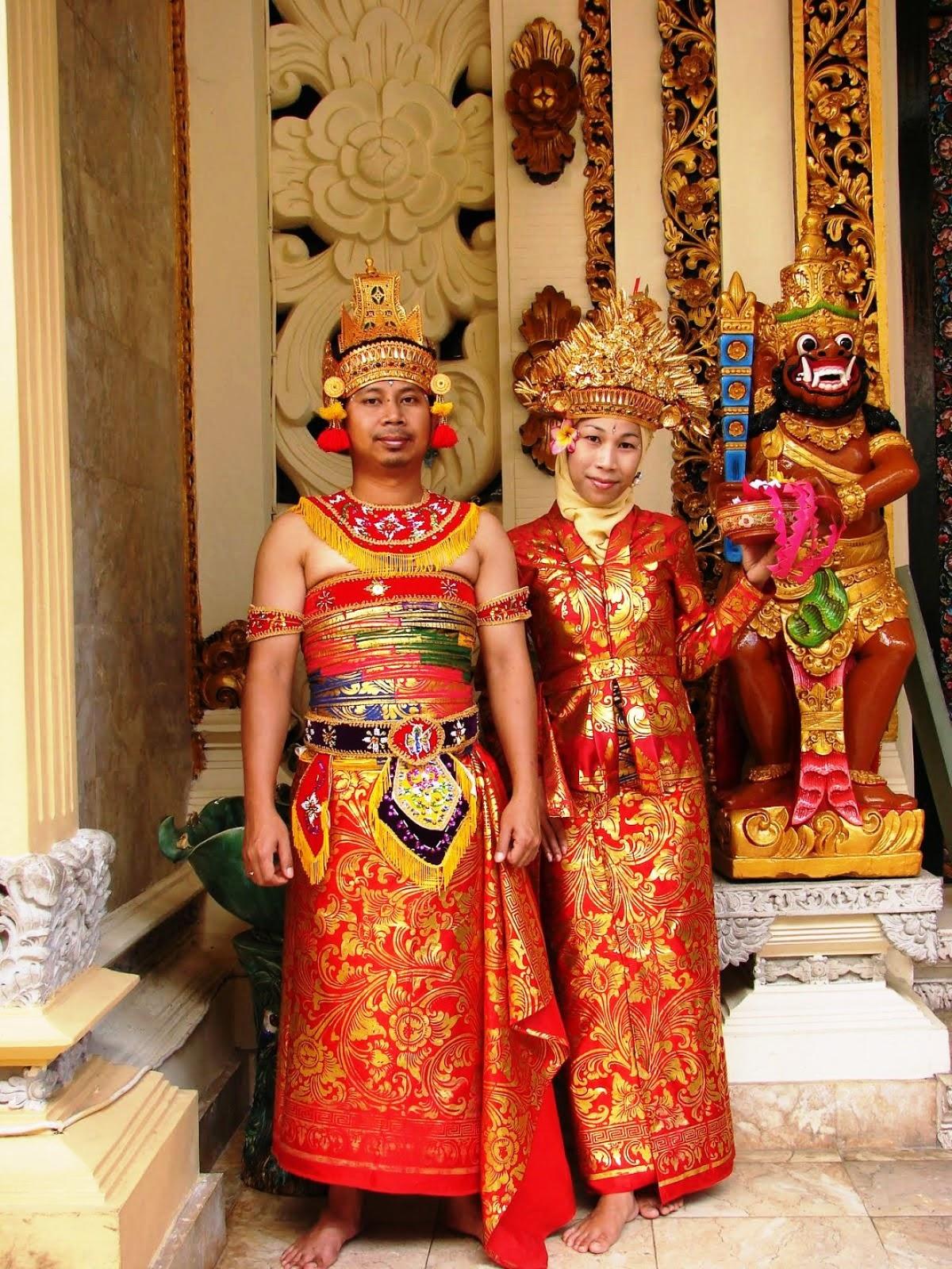 20 Gambar Baju Adat Bali Terbaik 2018