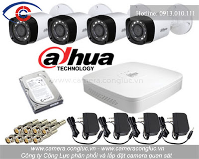 Thi công lắp đặt trọn bộ camera quan sát giá rẻ tại Lán Bè Hải Phòng.
