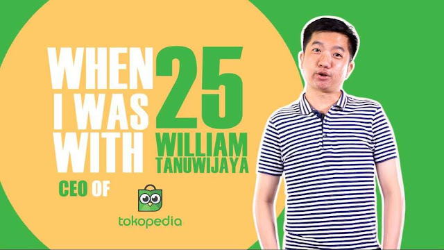 William Tanuwijaya Pendiri Tokopedia