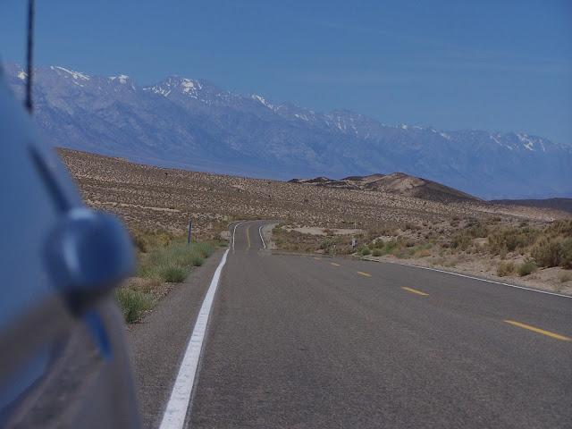 La Sierra Nevada enneigée