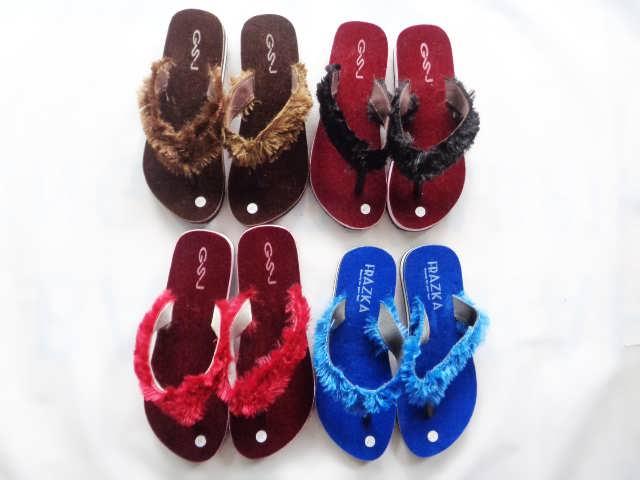 Sandal Lisban Bulu GSJ - Pabrik Sandal Jepit Murah