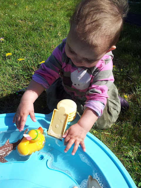 Matilda Mae's Messy Play Water Table Seaside Animals Isabelle Rubber Ducky