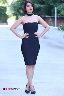 Actress Raashi Khanna Latest Pictures in Black Short Dress  0005