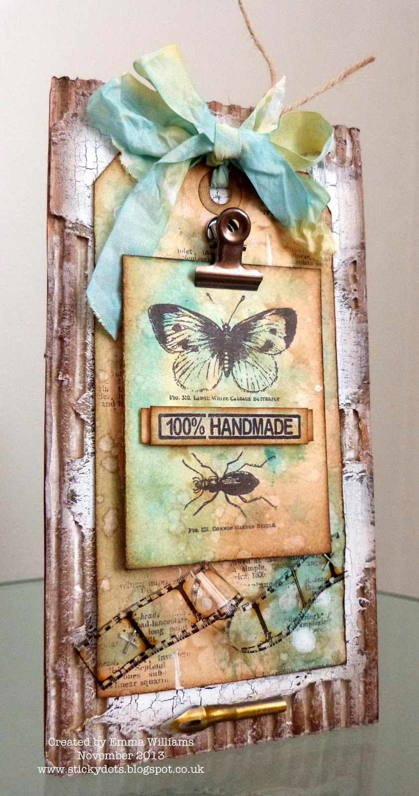 100 Handmade Gifts Under Five Dollars: The Artistic Stamper Creative Team Blog: 100% Handmade By Emma
