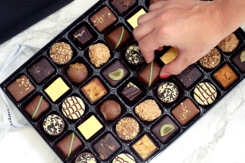 Food Definitive Chocolate Hamper By Serenata Flowers Fizzy