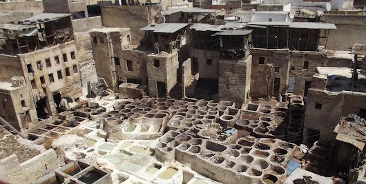 Snapshot on the road: the oldest leather tannery in the world