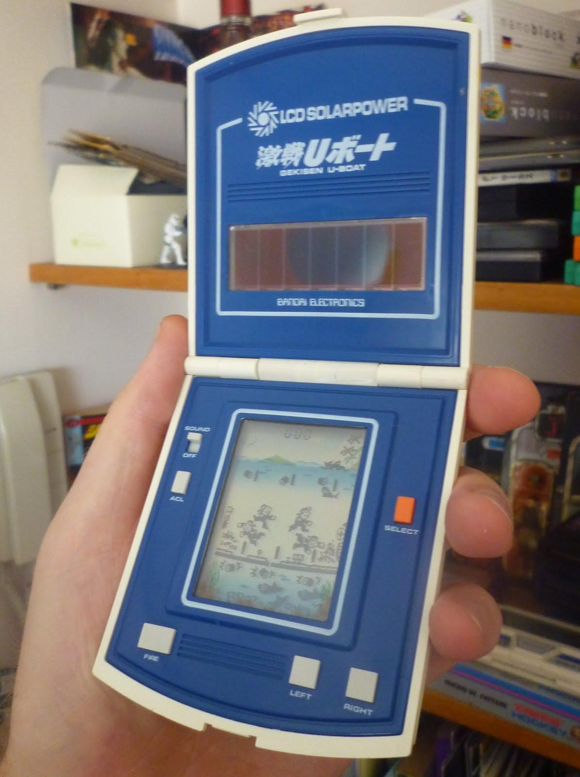 Famicomblog Retro Handhelds Bandai Gekisen U Boat Lcd