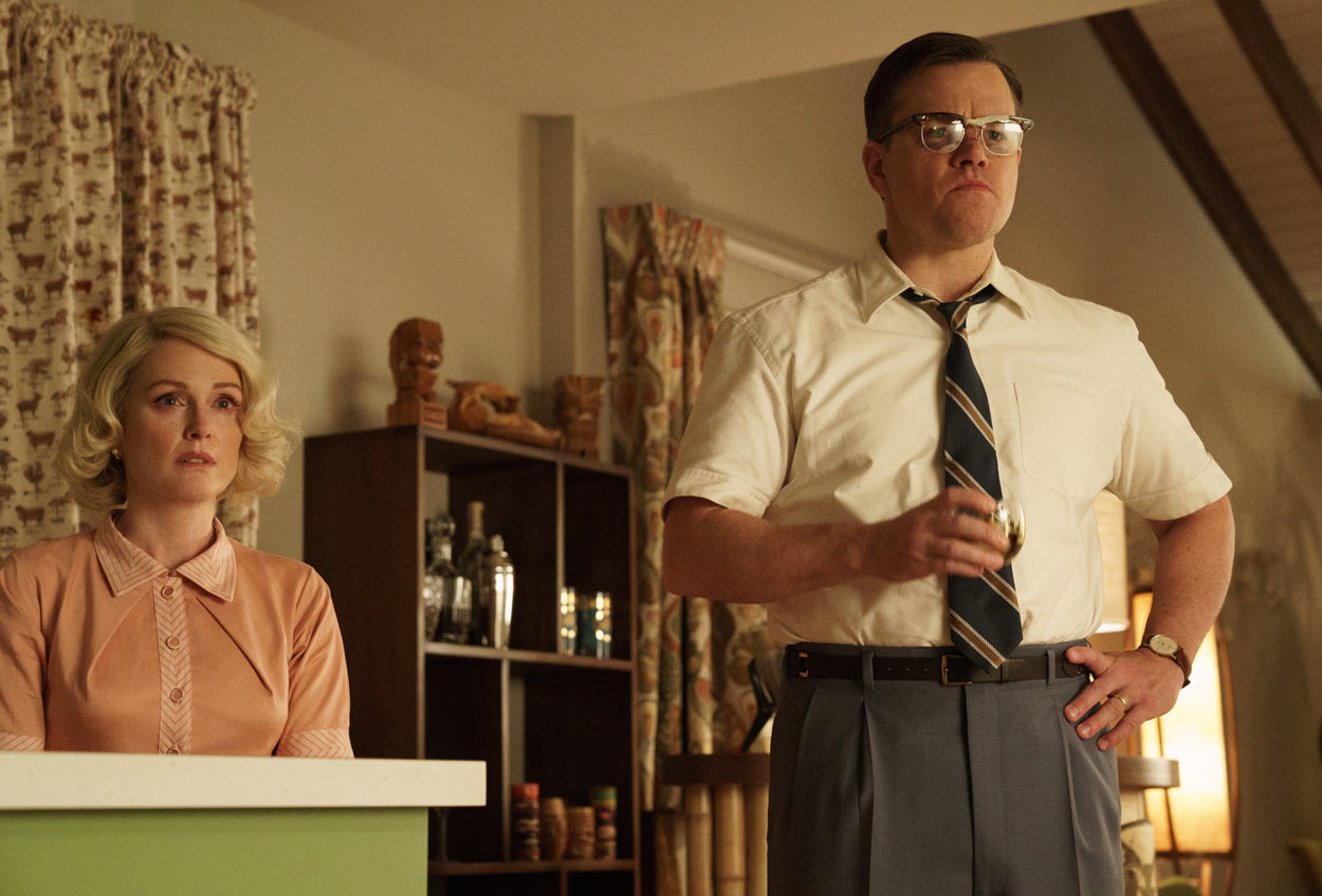 SUBURBICON - Matt Damon y Julianne Moore