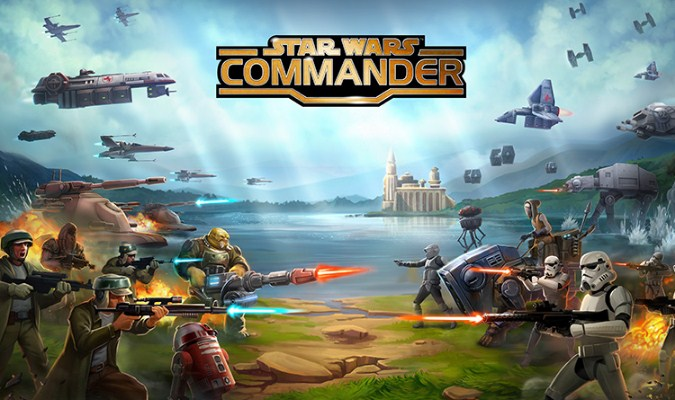 Game RTS Android - Star Wars: Commander