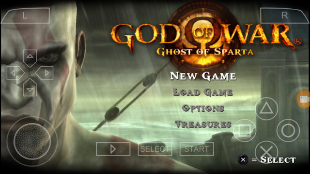 GOD OF WAR : 'GOST OF SPARTA [PSP] ANDROID