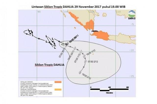 Siklon Tropis Dahlia ()