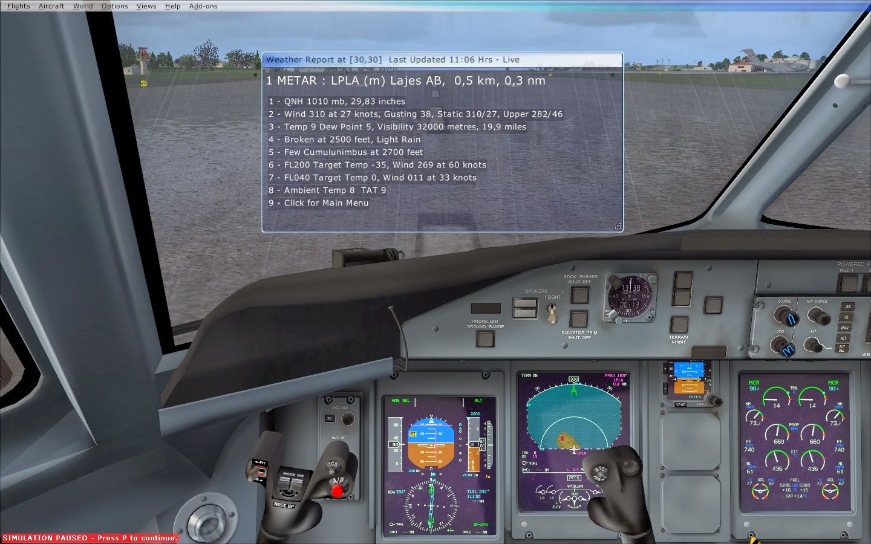 Flight Simulator Azores: Majestic Dash 8 Q400 - Download V1 009