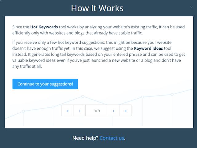 Riset Keyword dengan HitTail