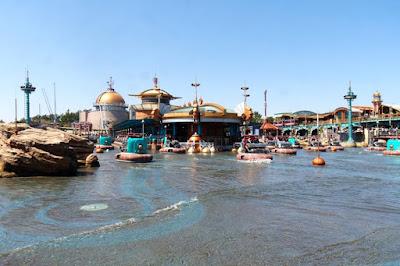 Aquatopia at Port of Discovery Tokyo Disneysea Japan