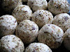 Spicy Goat Cheese Olive Balls