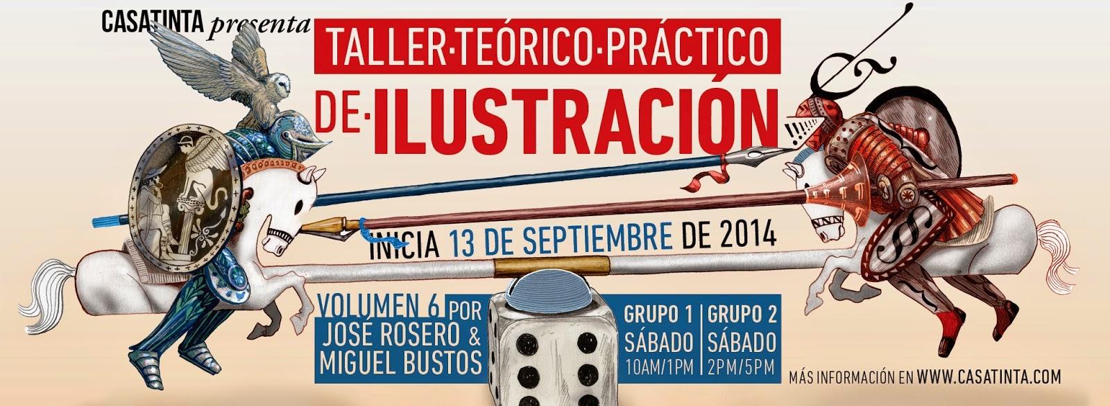 TALLER TEÓRICO PRÁCTICO DE ILUSTRACIÓN